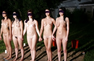 Blindfolded Babes Pics